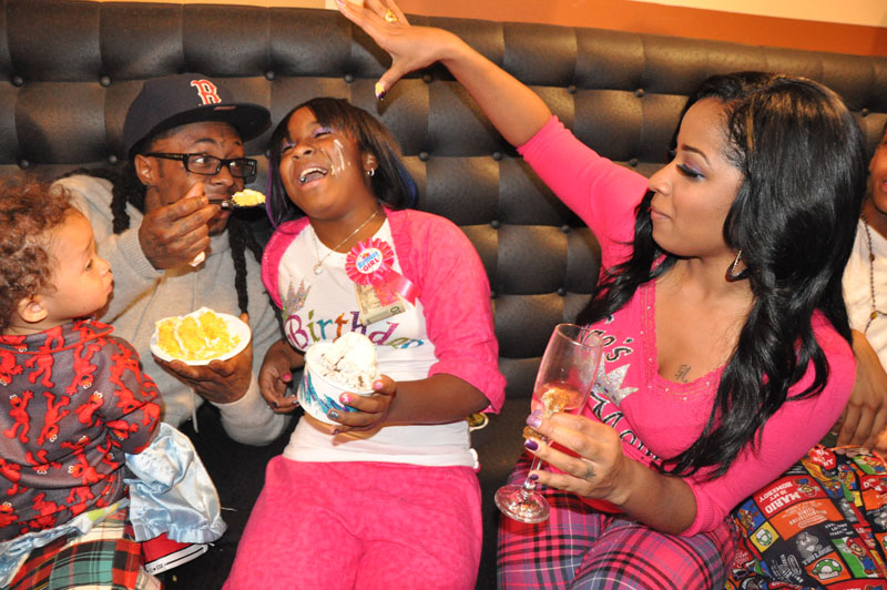 """Lil' Wayne Celebrates Daughter's Bday with """"SOME"""" of his ..."""