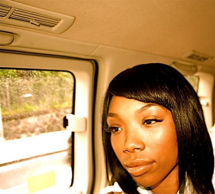 Brandy loves to change up her style!