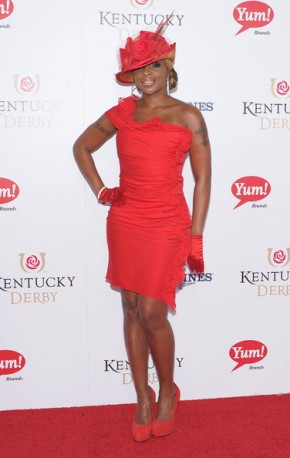 [Video] Mary J. Blige Sings National Anthem at Kentucky Derby