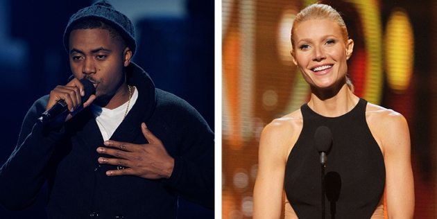 "Nas says Gwyneth Paltrow gets a ""pass"" for Using ""N"" Word"