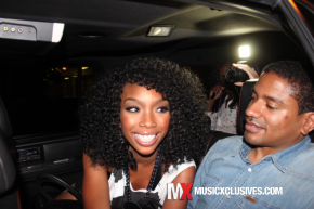 [Black Love] R&B Star Brandy & Her Beau, Ryan Press Out & About