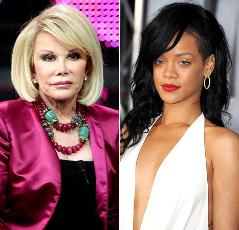 [Tweet Beef] @Joan_Rivers VS. @Rihanna Re: @ChrisBrown