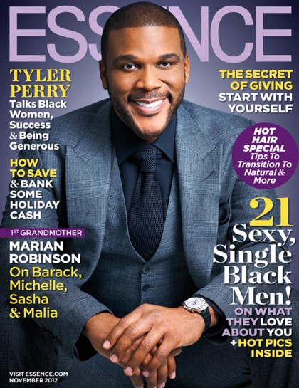 [Mag Covers] Tyeler Perry Covers Essence Magazine; Talks about Favorite Leading Ladies