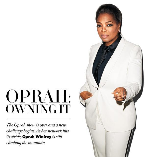 [Pix] Oprah Stuns in Harper'sBazaar