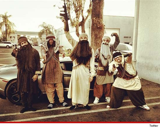Um… Chris Brown's Halloween Costume…
