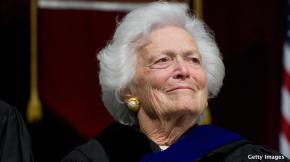 Barbara Bush – 'People Spoke. Move On, Get On With It'