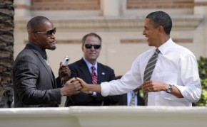 "[Video] Jamie Foxx Refers to President Obama as ""our Lord and Savior"""