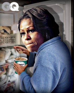 "GQ ""Least Influential People of 2012″ Lists Michelle Obama & Others"