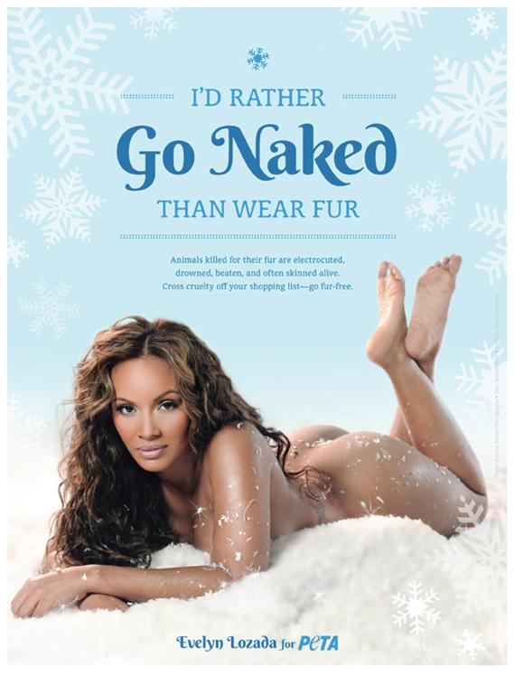 #Evelyn Lozada Goes Nude For PETA_deidahdereon