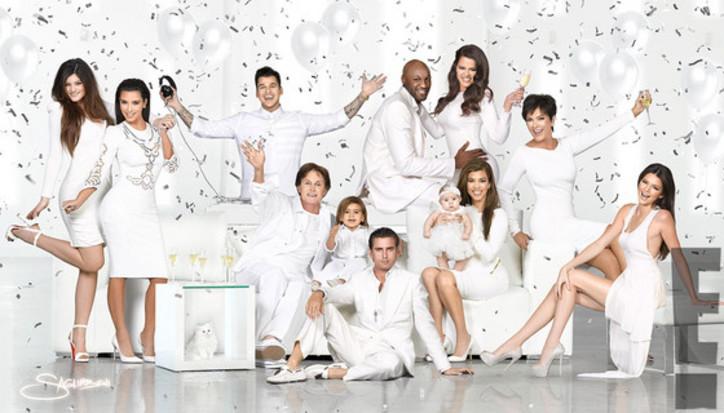 [Pix] Kardashian Christmas Card isHere!