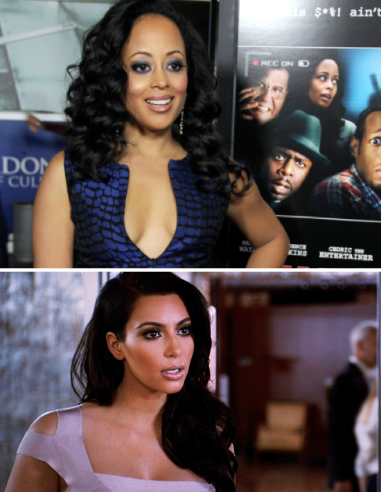 Essence Atkins Tells Tyler Perry off about Kim Kardashian 'Experiment'