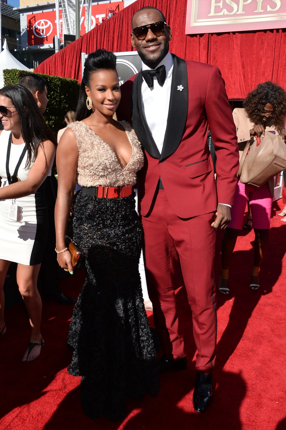 Not Enough has been said… LeBron James Red Tux (Waraire Boswell)